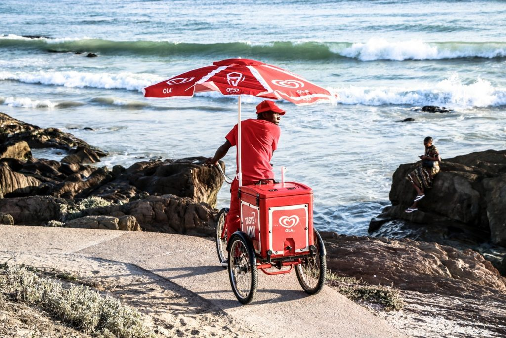 Ideas how to start small business on bike or cart